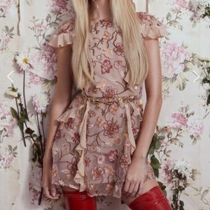 NWTs For Love and Lemons Mini Dress